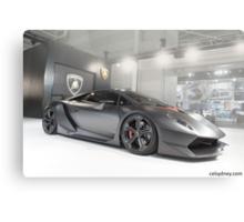 Lamborghini Sesto Elemento Canvas Print