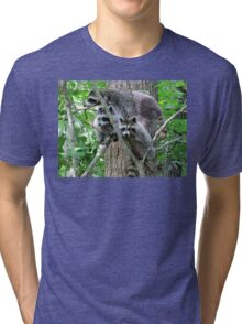 Mom, The Camera Is Over There! Tri-blend T-Shirt