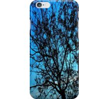 """Trees with Blue Sky"" by Chip Fatula iPhone Case/Skin"