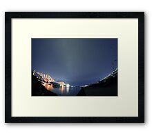 Forth Bridge Alternative Framed Print
