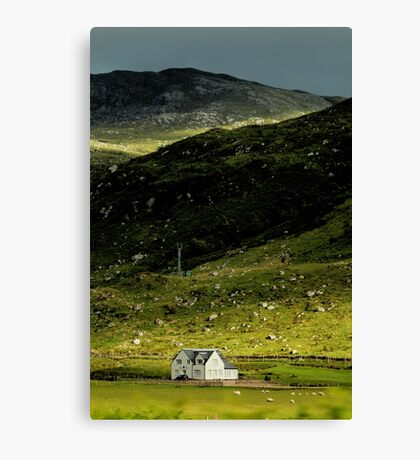 Valley House Canvas Print