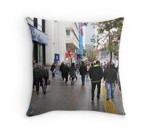 A day in Ankara. Throw Pillow