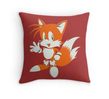 Minimalist Tails 3 Throw Pillow