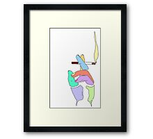 Cigarette Daydreams - In Color Framed Print