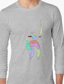 Cigarette Daydreams - In Color Long Sleeve T-Shirt