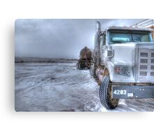 Big old Freightliner. Metal Print