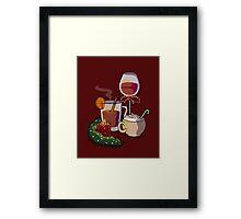 Holiday Drinks Framed Print