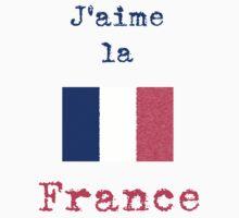 I Love France Vintage Style Kids Clothes