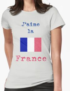 I Love France Vintage Style T-Shirt