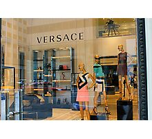 Versace 5th Avenue Street Vew Photographic Print