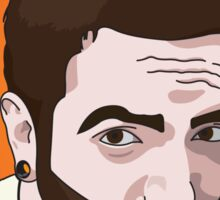 Jeremy Mckinnon Portrait Sticker