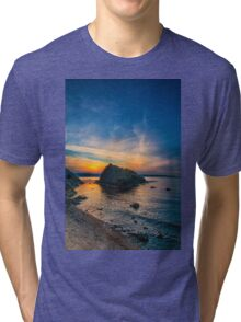 Sunset at Bosphorus Tri-blend T-Shirt