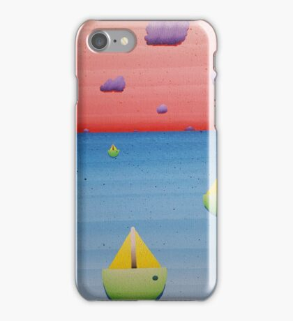 surreal ocean  iPhone Case/Skin