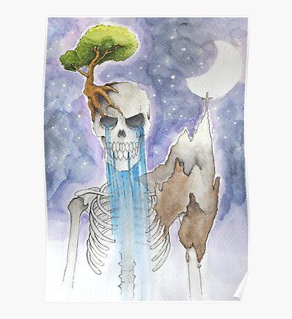 Skelet Earth Poster
