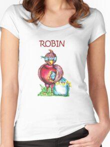 Robin T-Shirt Women's Fitted Scoop T-Shirt