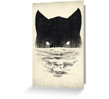Wolfy Greeting Card