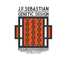 JF SEBASTIAN GENETIC DESIGN - Blade Runner Photographic Print