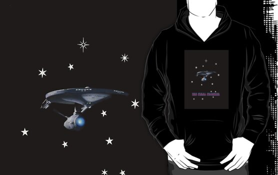 The Final Frontier Hoodie by Catherine Hamilton-Veal  ©