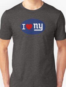 I LOVE NY (Giants) Euro Sticker - Alternate T-Shirt