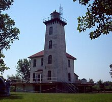 Saginaw River Rear Range Light (12) by Francis LaLonde