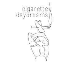 Cigarette Daydreams - In Black & White Photographic Print