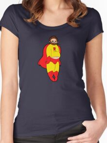 Super Ray! Women's Fitted Scoop T-Shirt