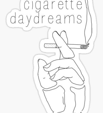 Cigarette Daydreams - In Black & White Sticker