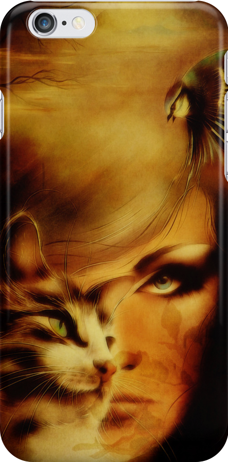 iPHONE Case-Children of Your Soul by Pamela Phelps