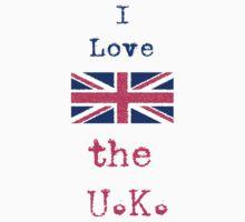 I Love The U.K. Kids Clothes