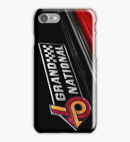 1985 Buick Grand National iPhone Case/Skin