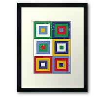 Sq No.6 Framed Print