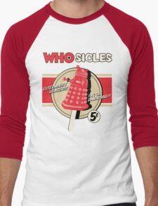 WHOSICLES Men's Baseball ¾ T-Shirt