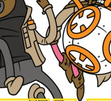 Star Time - The Adventure Awakens Sticker