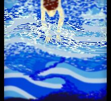 The Swimmer by Raincloudart