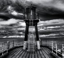 End Of The Pier. Infrared by taffspoon