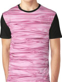Fractal Noise Mauve / Pink Swirl Graphic T-Shirt