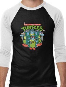 Filburt Turtle Men's Baseball ¾ T-Shirt