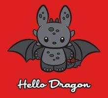 Hello Dragon One Piece - Short Sleeve