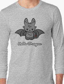 Hello Dragon Long Sleeve T-Shirt