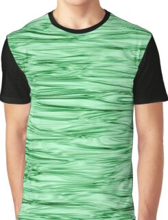 Fractal Noise Green Swirl Graphic T-Shirt