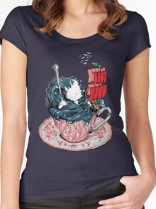 Storm in a teacup Women's Fitted Scoop T-Shirt
