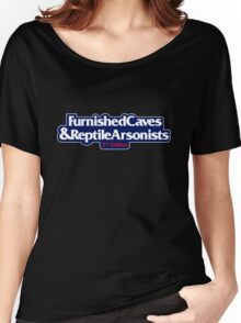 Furnished Caves & Reptile Arsonists Women's Relaxed Fit T-Shirt