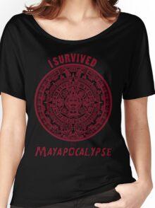 Mayan Apocalypse Survivor Women's Relaxed Fit T-Shirt