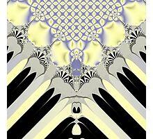Golden Rays Photographic Print