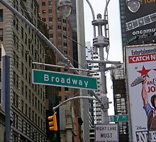 Broadway, NYC by ADayToRemember