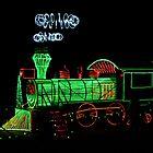 Christmas Train by Tisha Clinkenbeard
