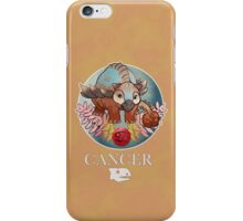 Cancer Dinosaur Zodiac iPhone Case/Skin