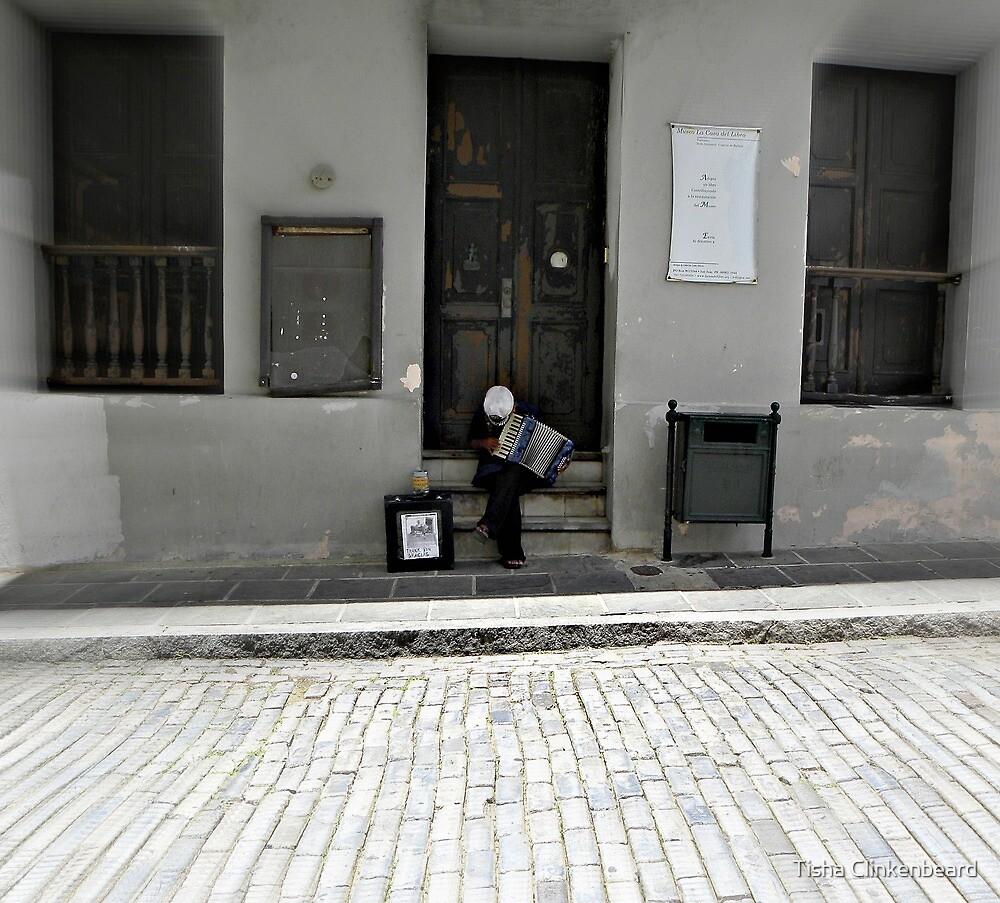 Street Music in San Juan by Tisha Clinkenbeard