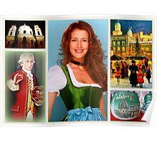 Gruss aus Salzburg Poster