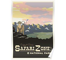 Safari Zone Poster